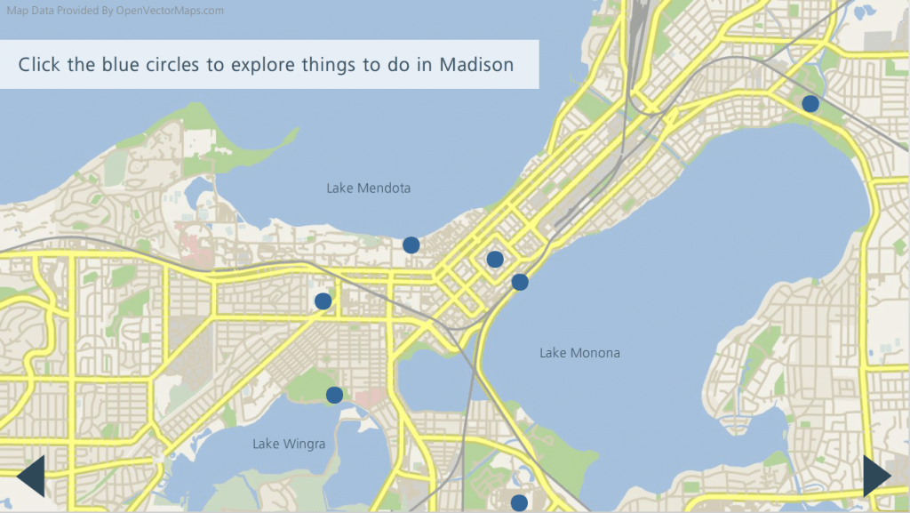 Interactive Map of Madison