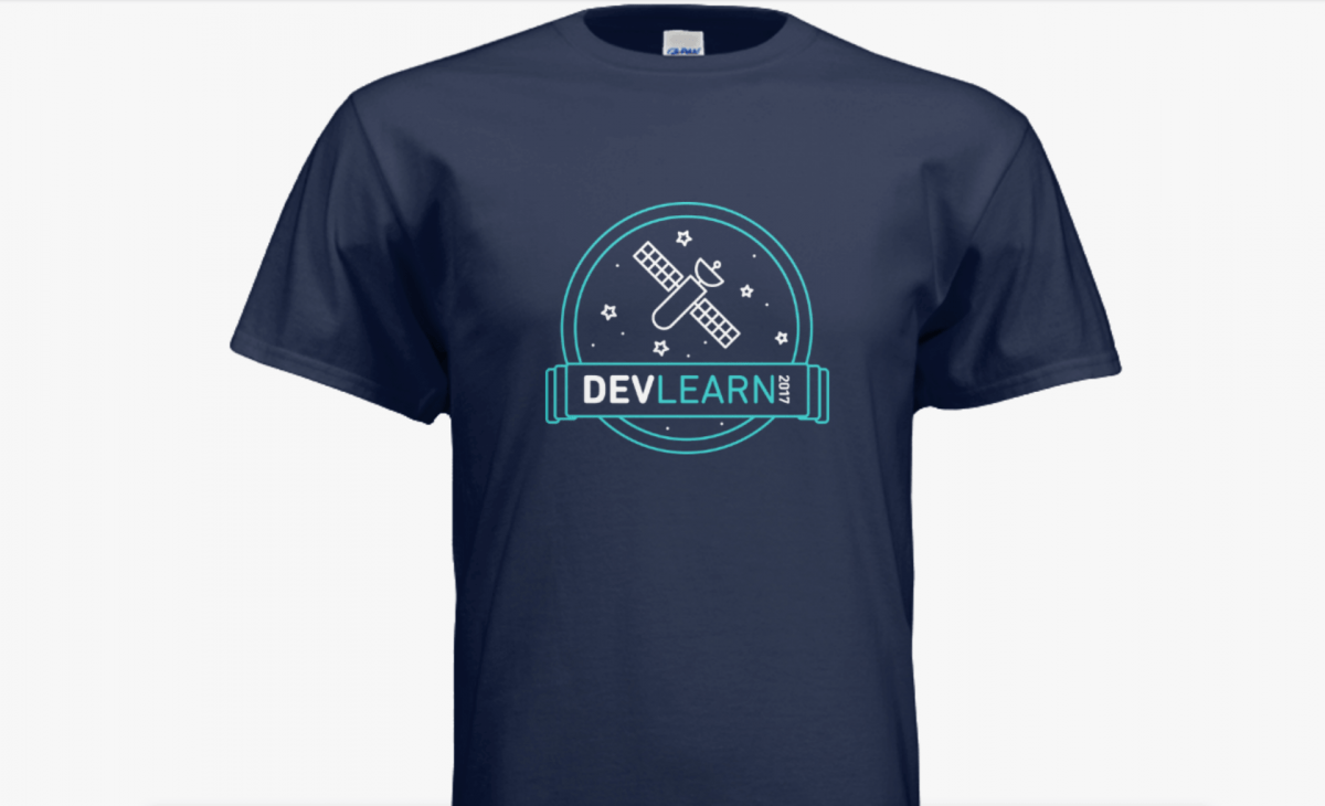 DevLearn 2017 T-shirt Design Contest Submission