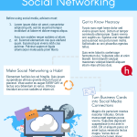 Social Networking Best Practices Infographic